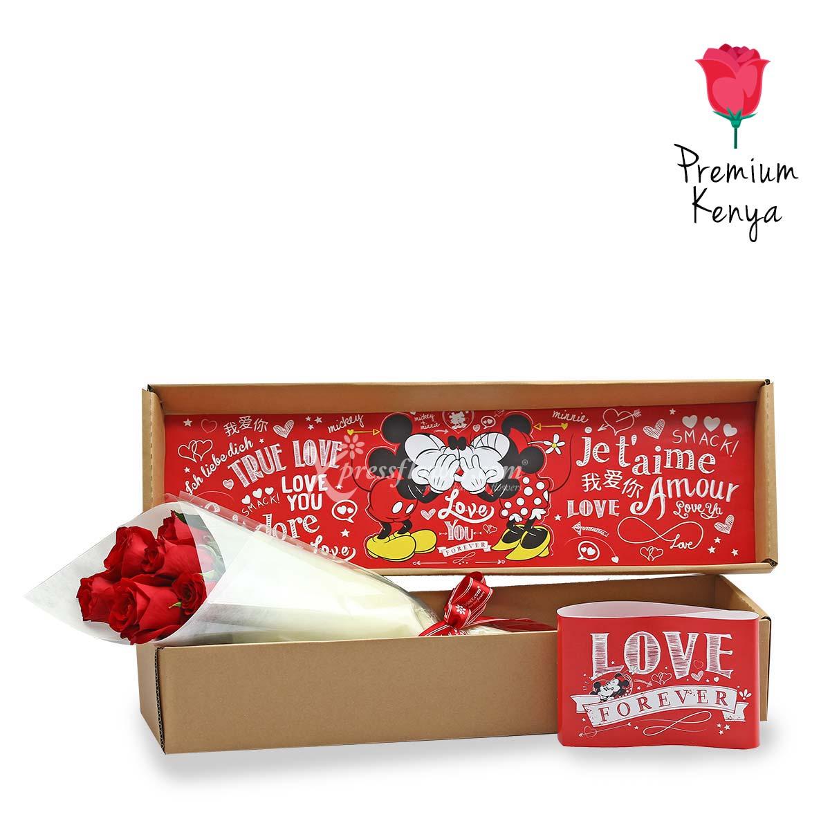 DSBX1901 Never Ending Love Story Disney Box