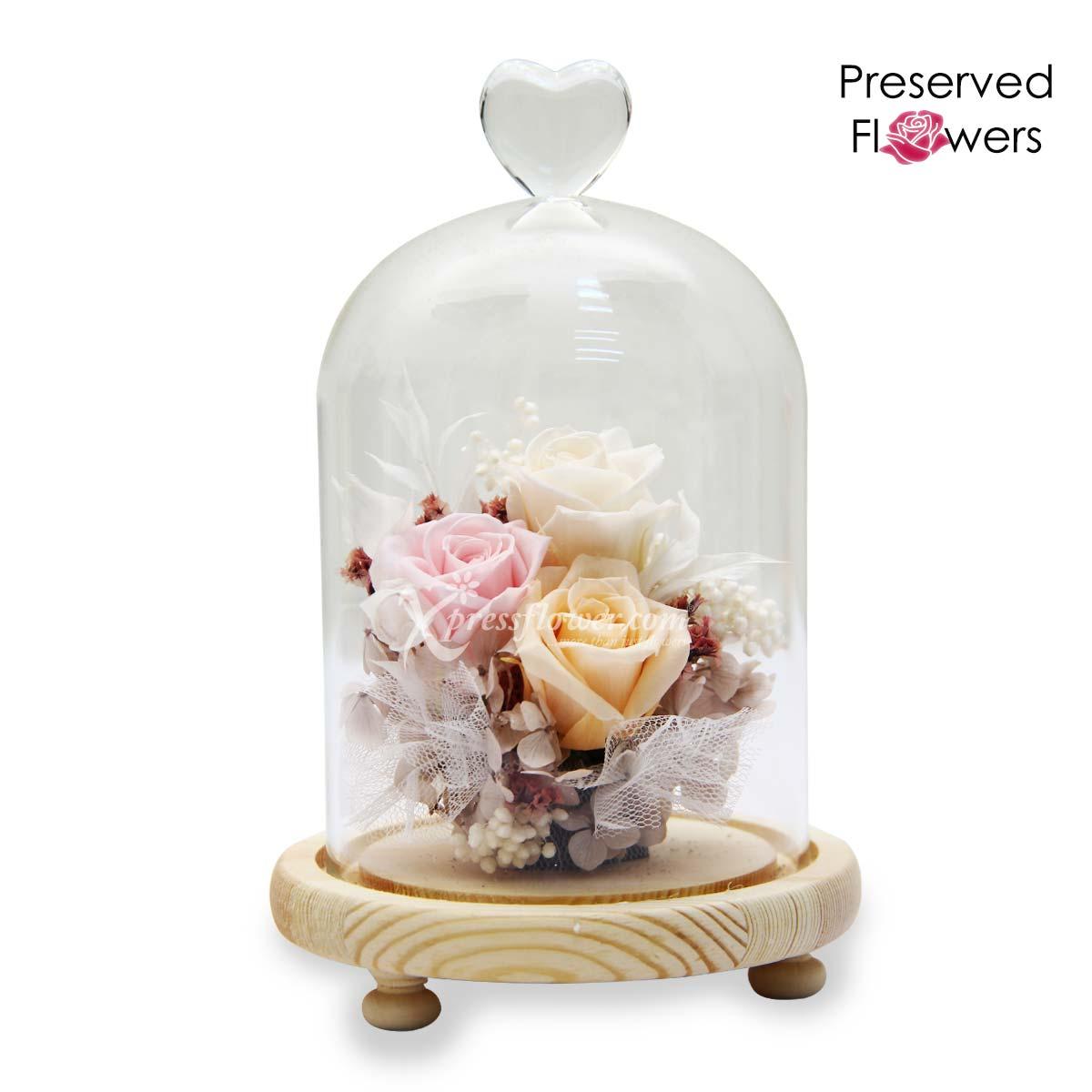 PR2105 Pastel Kisses Preserved Flowers