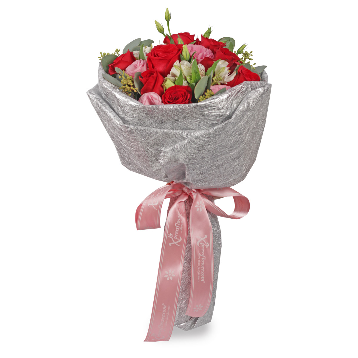 VD1703 9 staks red roses bouquet