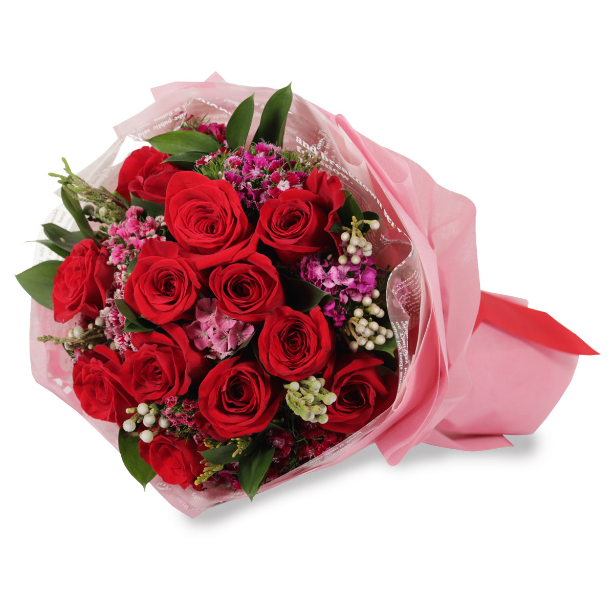 VD1705 12 stalks round bouquet