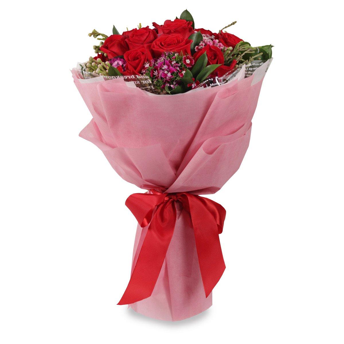 VD1705 12 stalks round bouquet
