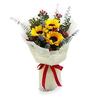 My Sunbeams (3 stalks Sunflowers)