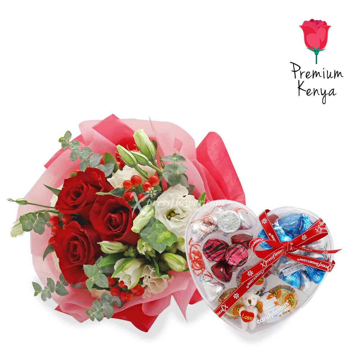 VDFG2071 Sweet Cherry Kisses Flower and gift