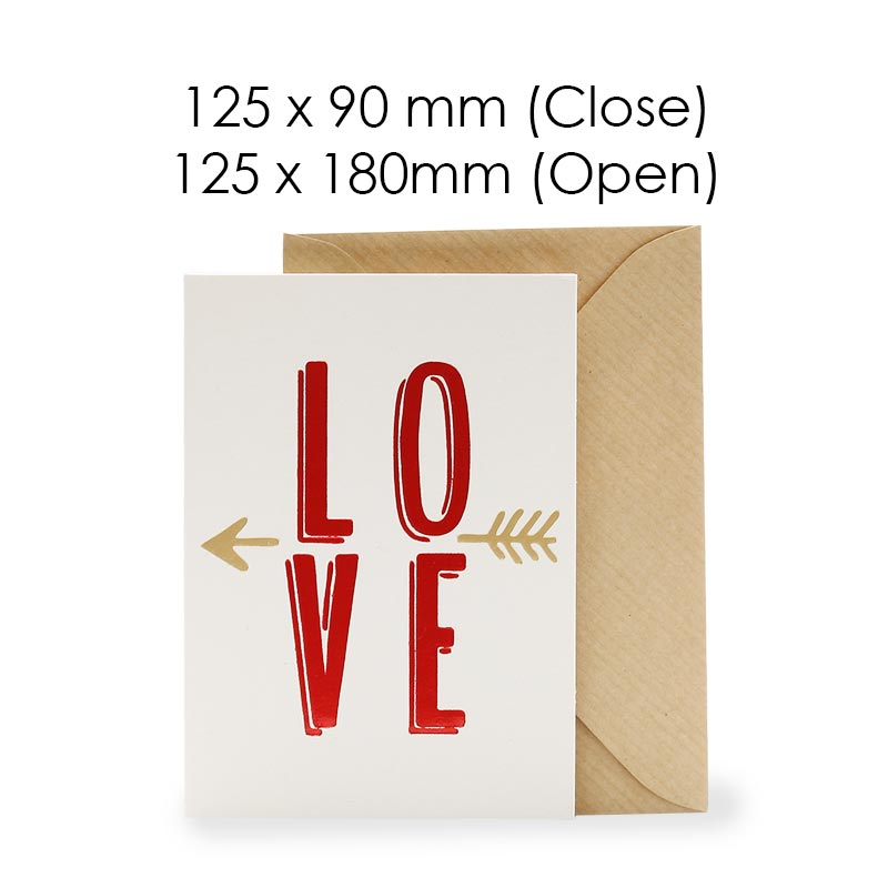 L-O-V-E (Blank Card)